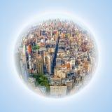 Дело Нью-Йорка схематическое Стоковое Фото