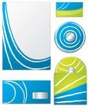 Дело цвета установленное с белыми линиями бесплатная иллюстрация