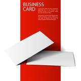Дело card2-01 модель-макета Стоковые Фотографии RF