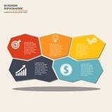Дело Infographic Стоковое Изображение