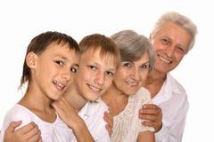 Деды и внучата Стоковая Фотография RF