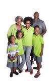 Деды и их 4 внука Стоковое Изображение