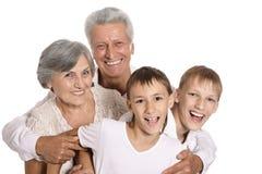 Деды и их внуки Стоковое Изображение RF