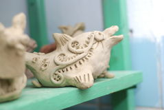 Дельфин глины Стоковое Изображение RF