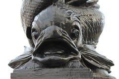 Дельфин Lamposts Лондон Стоковая Фотография RF