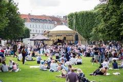 Джазовый фестиваль Копенгаген 2017 стоковые фотографии rf