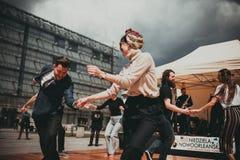 Джазовый фестиваль Нового Орлеана в Кракове, Польше Стоковые Фото