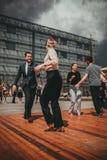 Джазовый фестиваль Нового Орлеана в Кракове, Польше Стоковая Фотография RF