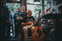Джазовый фестиваль Нового Орлеана в Кракове, Польше Стоковые Изображения RF