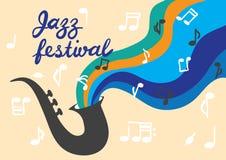 Джазовый фестиваль Стоковое фото RF