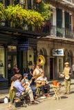 Джаз в Новом Орлеане стоковые изображения rf