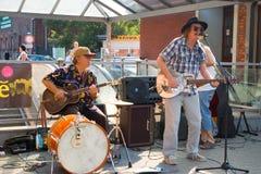 Джаз в улицах Стоковые Фото
