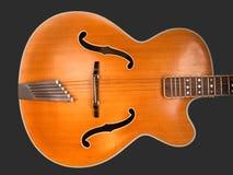 джаз гитары тела archtop старый Стоковые Фото
