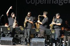 джаз празднества copenhagen Стоковые Фото