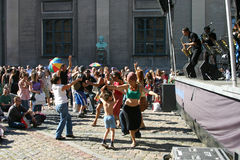 джаз празднества copenhagen Стоковое Изображение RF