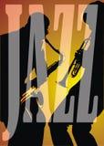 джаз предпосылки Стоковая Фотография RF
