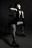 джаз танцора стоковое изображение