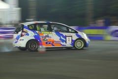 Джаз RS Honda голодает спортивные состязания укладки в форме стоковое изображение rf