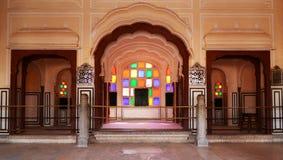 Джайпур Hawa Mahal Стоковые Фотографии RF