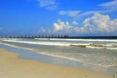 Джексонвилл, пляж Флориды Стоковое Фото