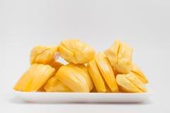 Джекфрут, тайский изолят плодоовощ на белой предпосылке Стоковое Фото