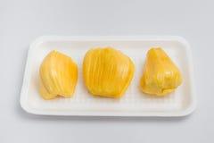 Джекфрут, тайский изолят плодоовощ на белой предпосылке Стоковое Изображение RF