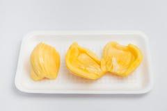 Джекфрут, тайский изолят плодоовощ на белой предпосылке Стоковые Фото