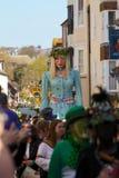 Джек в зеленом фестивале, Hastings.  2013 Стоковые Фото