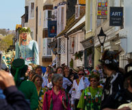 Джек в зеленом фестивале, Hastings.  2013 Стоковое Фото