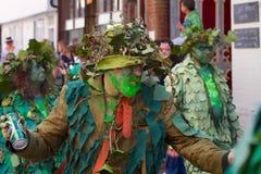 Джек в зеленом фестивале, Hastings Стоковые Фото