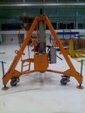 Джек на инструменте воздушных судн Стоковое Фото