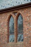 Джемстаун, Вирджиния - 27-ое марта 2018: Церковь Джемстауна мемориальная которая была построена в 1906 Стоковое Изображение RF