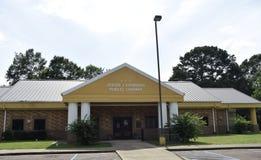 Джесс j Публичная библиотека Edwards, Coldwater, Миссиссипи стоковая фотография rf