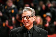 Джеф Goldblum во время Berlinale 2018 Стоковые Изображения RF