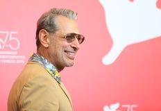 Джеф Goldblum присутствует на ` ` горы стоковая фотография