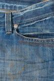 джинсовая ткань предпосылки Стоковое Изображение