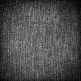 Джинсовая ткань текстуры абстрактная черная Стоковое фото RF