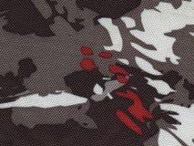 Джинсовая ткань ткани предпосылки Стоковая Фотография