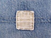 джинсовая ткань увяла карманн Стоковая Фотография RF