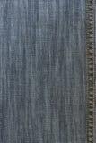джинсовая ткань увяла шов Стоковые Фото