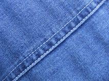джинсовая ткань Стоковая Фотография RF