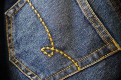 джинсовая ткань Стоковые Фото