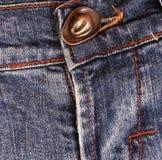 джинсыы детали кнопки стоковые изображения rf