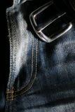 джинсыы джинсовой ткани стоковое изображение