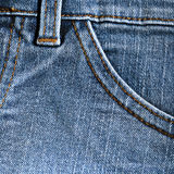 джинсыы предпосылки Стоковое фото RF