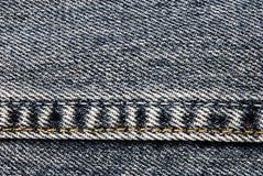 джинсыы предпосылки Стоковая Фотография