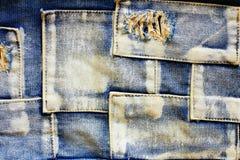 джинсыы ткани Стоковое Изображение