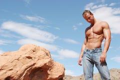 джинсыы укомплектовывают личным составом сексуальное стоковые фото