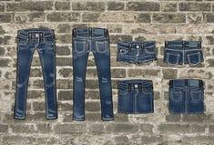 джинсыы Стоковая Фотография RF