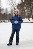 джинсыы o куртки голубого мальчика Стоковая Фотография